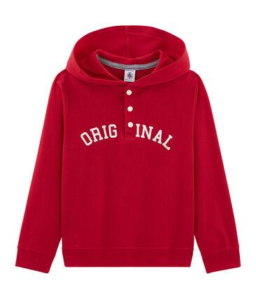 Sweatshirt met kap voor jongens
