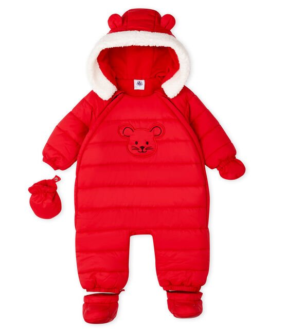 Combipilote bébé mixte rouge Terkuit