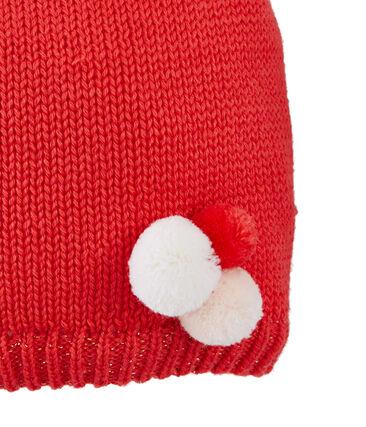 Bonnet enfant fille rouge Signal
