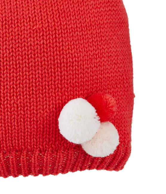 Bonnet enfant fille rouge Signal