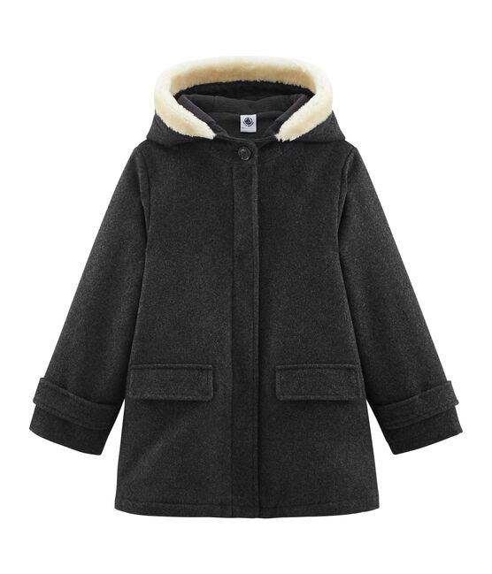 Manteau enfant fille gris Subway