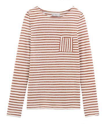 3bfe535140b Tee-shirt manches longues femme en lin. Offre Coups de Cœur Petit Bateau