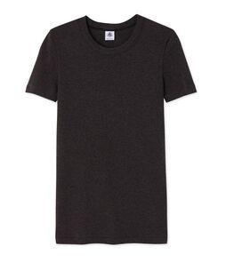 Tee shirt manches courtes iconique femme gris City Chine
