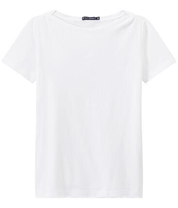 Dames-T-shirt MATROZENHALS uit fijne jersey