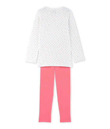 Pyjama fille à pois