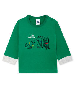 T-shirt met lange mouwen babyjongen
