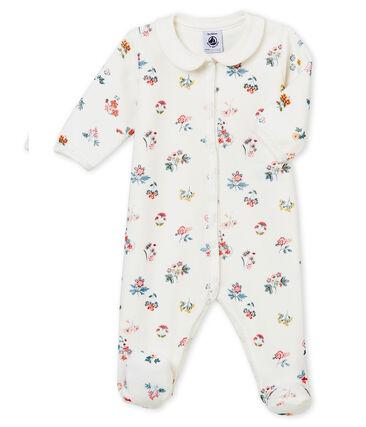 Pyjama voor babymeisjes wit Marshmallow / wit Multico