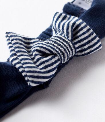 Haarband voor babymeisjes blauw Haddock