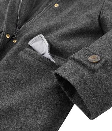 Manteau enfant fille gris Subway