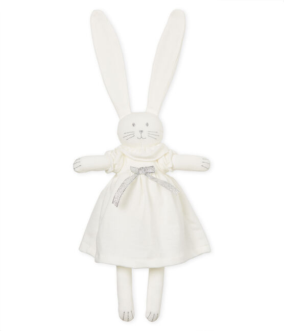 Doudou lapin raffiné blanc Marshmallow