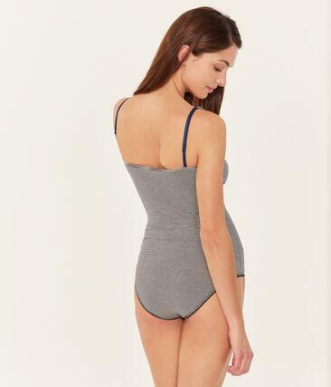 Body sans manche femme en jersey extrafin