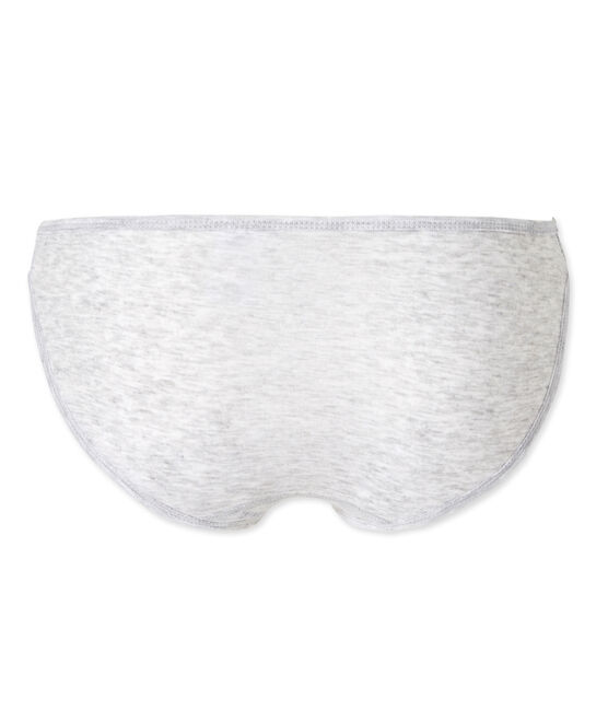 Culotte femme en coton léger gris Poussiere Chine