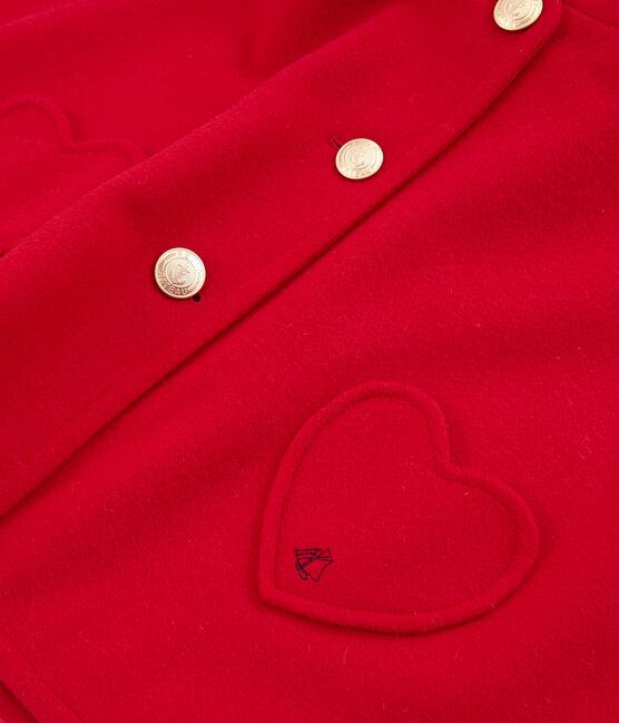 Meisjes cape rood Terkuit