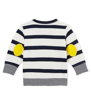 Marinegestreepte hoodie voor babyjongens