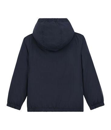 Coupe vent chaud et réversible enfant mixte bleu Smoking