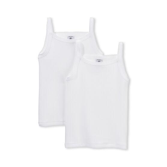 Set meisjeshemden met schouderbandjes set .