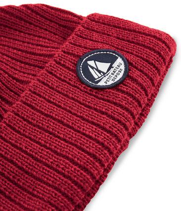 Bonnet enfant mixte rouge Terkuit