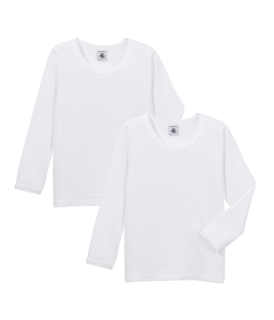 Set T-shirts lange mouwen meisjes set .