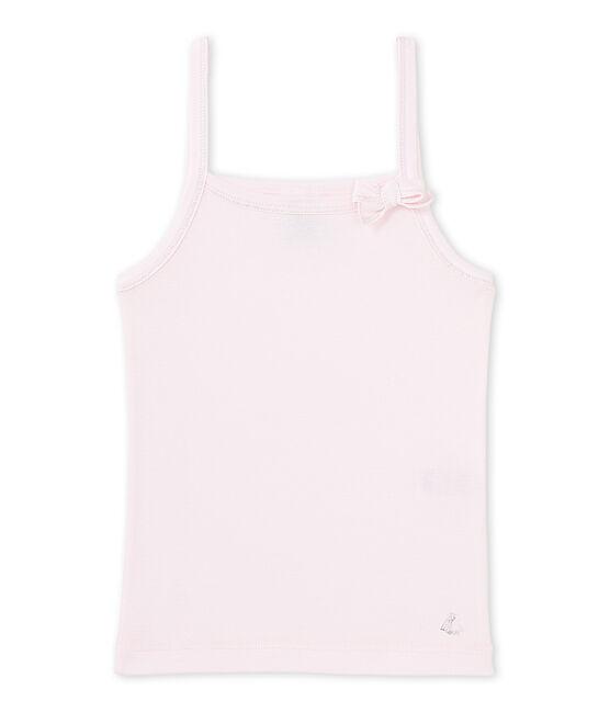 Meisjeshemdje roze Vienne