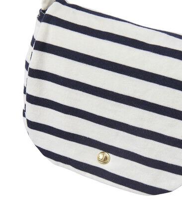 Gestreepte schoudertas voor meisjes