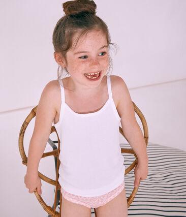 Set meisjeshemden met schouderbandjes