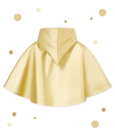 Regencape voor baby's geel Dore
