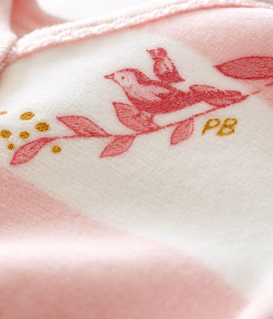 Pyjama voor babymeisjes roze Joli / wit Marshmallow