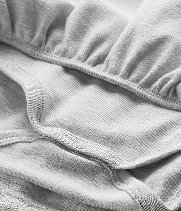 Baby meisje jurk grijs Beluga Chine