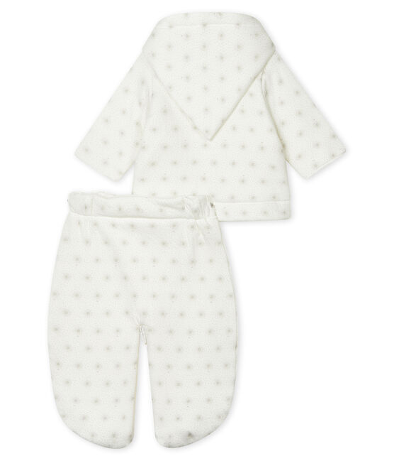 3-in-1 pilootpakje voor baby's wit Marshmallow / beige Perlin
