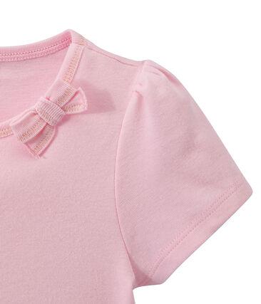 Meisjes-T-shirt met strikje