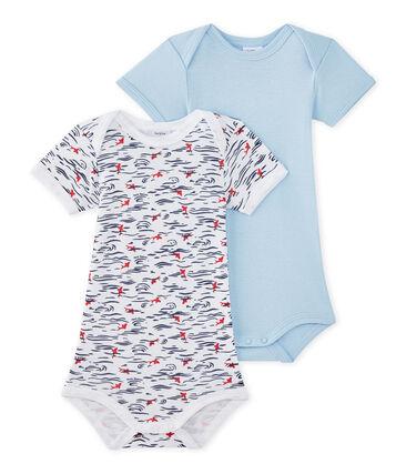 Set van 2 body's met korte mouwen voor babyjongens