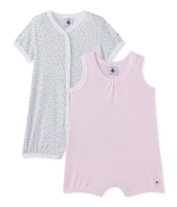 Set van twee korte pakjes voor babymeisjes set .