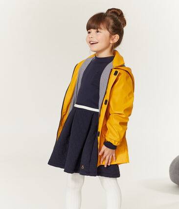 Robe col roulé enfant fille bleu Smoking