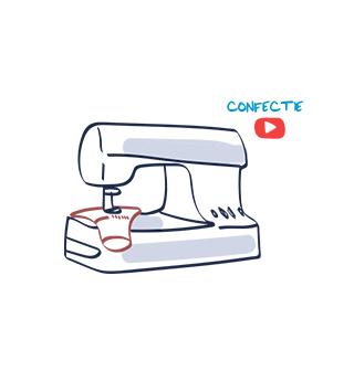 Confectie Youtube video