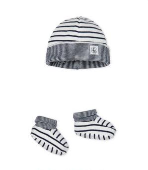 Lot bonnet et chaussons