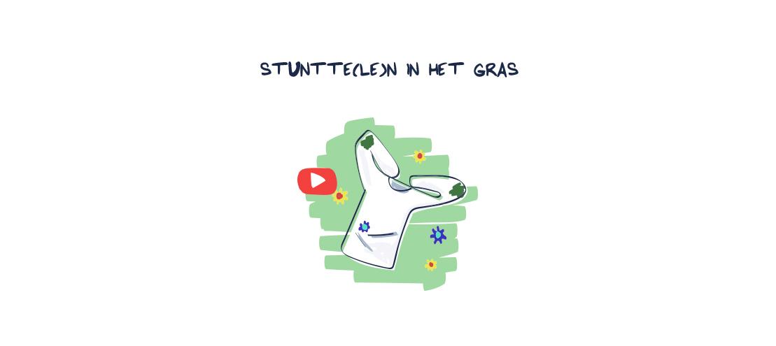 Video Tweede Leven Stunttelen in het gras Petit Bateau