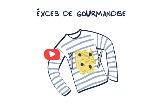 Video Seconde Vie Exces de Gourmandise Petit Bateau