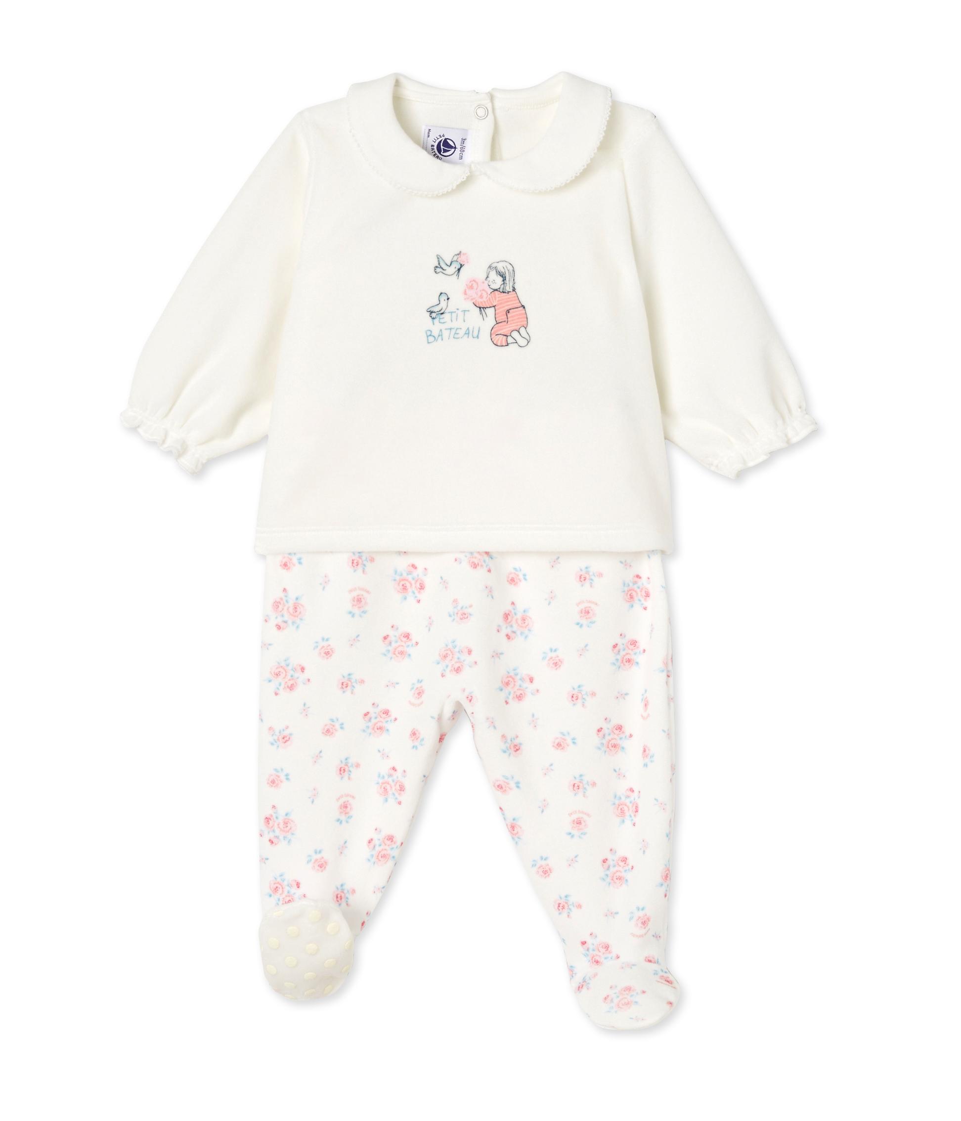 e7759367735ad Pyjama bébé fille à pieds